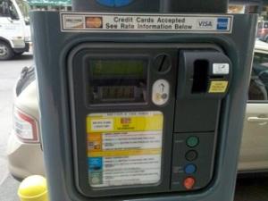 Parking meter, NYC