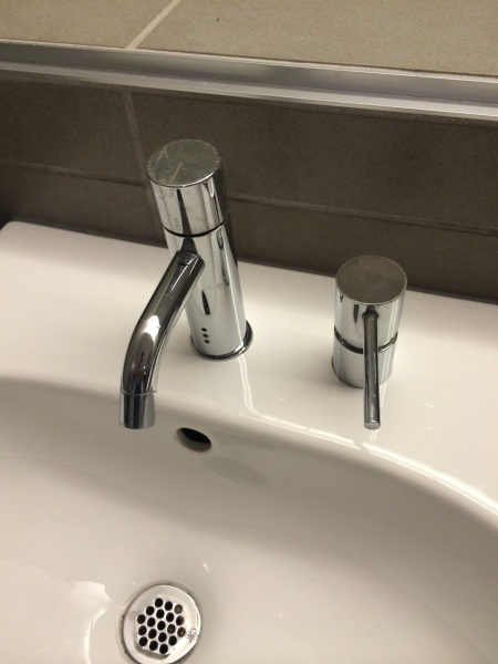 MFA bathroom sink fixtures